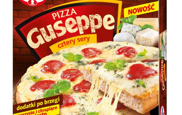 Dr Oetker Pizza Guseppe cztery sery
