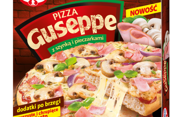 Dr Oetker Pizza Guseppe z szynką i pieczarkami