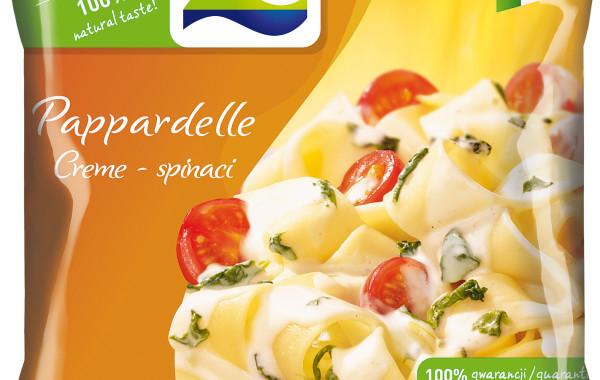 Pappardelle z sosem szpinakowym1